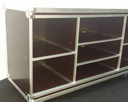 Flight case mobilier