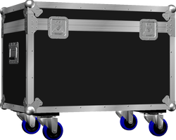 Flight case malle 800x400x400