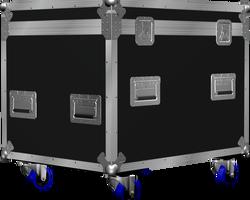 Flight case malle 800x600x600