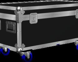 Flight case malle 1000x500x400