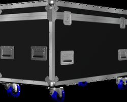 Flight case malle 1200x600x600