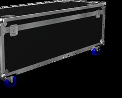 Flight case malle 1400x600x600