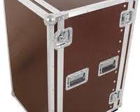 """Flight case rack 19"""" 16U a roulettes"""