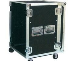 """Flight case rack 19"""" 10U a roulettes"""